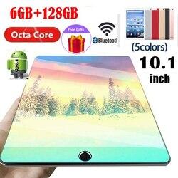[Gran oferta] pantalla grande de 10,1 pulgadas IPS Dual SIM 4G teléfono WIFI Android 8,1 6GB + 128GB tableta de juegos