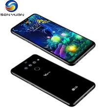 Orijinal kilidini LG V50 ThinQ V450PM/V500N 6.4 inç NFC 5G telefon 6GB RAM 128GB ROM android Octa çekirdek çift ön 3 arka kamera