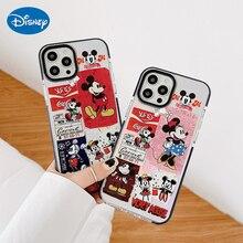 Disney Creatieve Cartoon Emoticons Mickey Minnie Voor Iphone 8 Plus Case 12 11 Pro Max X Xr Xs Max 7plus 7 8 Se Case Voor Iphone