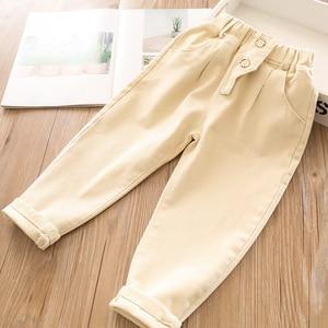 Image 3 - 2020 bahar bebek kız pamuk rahat pantolon toptan