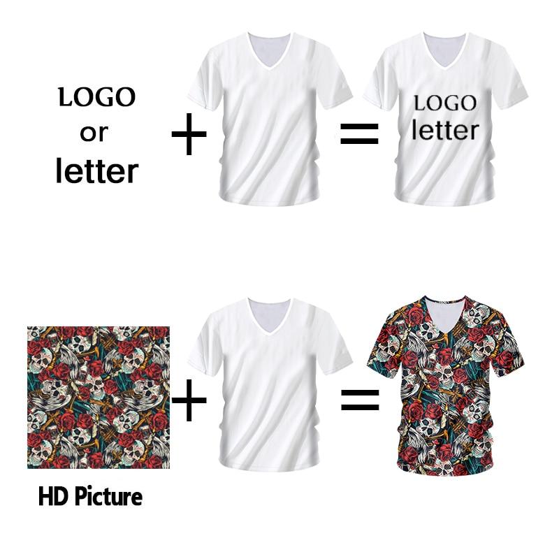 Ifpd eu/us размер 3d печать v образным вырезом футболки кленовый