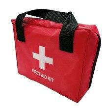 Мини Портативный аварийный набор сумка аптечка красная сумка для семейного путешествия на открытом воздухе аварийное медицинское лечение