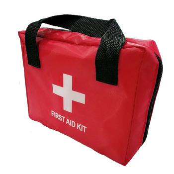 Mini Portable Emergency Kits Bag First Aid Kit Red Bag For Family Travel Outdoor Emergency Medical Treatment