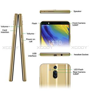 Image 5 - XGODY Mate RS 3G смартфон с 6 дюймовым дисплеем, 18:9, ОЗУ 1 ГБ, ПЗУ 8 ГБ, 2800 мАч, Android 8,1