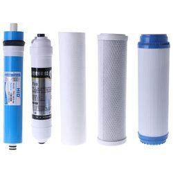 Pięciostopniowy odwrócony filtr osmotyczny zestaw filtr do wody wkład 50 galonów  75 galonów do domu  biura w Części do filtra wody od AGD na