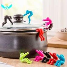 Водостойкий подъемник крышки для супа кухонные инструменты подставка