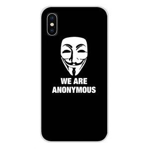 Для Huawei NOVA 2 3 2i 3i Y6 Y7 Y9 премьер-профессионал GR3 GR5 2017 2018 2019 Y5II Y6II ТПУ чехлы накладки Вендетта аноним Маска Гая Фокса