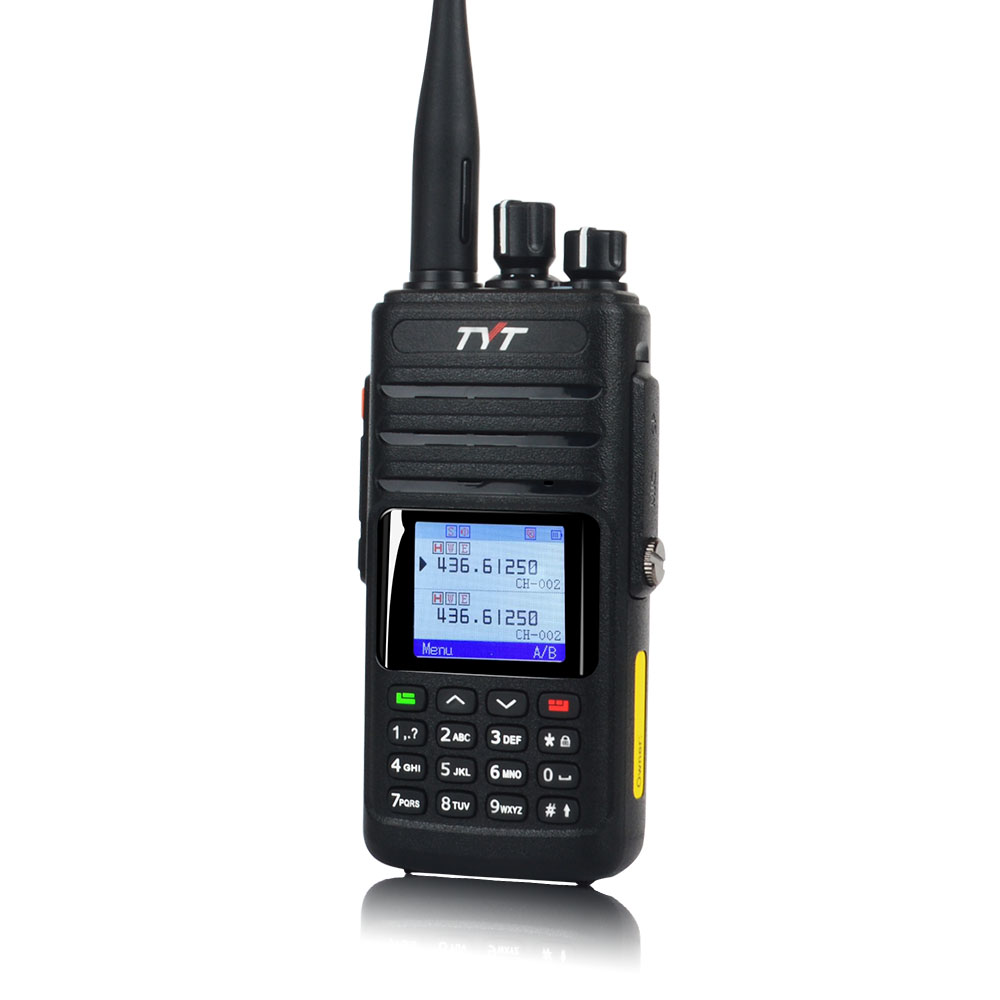 10W WALKIE TALKIE Waterproof IP67 Dual Band FM GPS Portable Two Way Radio Analog VOX DTMF  256CH VHF/UHF Talkie Walkie