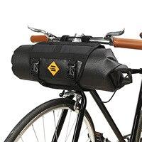 B ALMA Grande Capacidade Totalmente À Prova D' Água Saco de Bicicleta Saco Da Frente Da Bicicleta Saco de Guiador Da Bicicleta de Montanha Acessórios Sacos|Cestos e bolsas p/ bicicleta| |  -