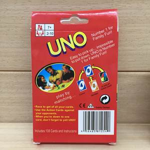 Poker Board-Game Playing-Cards Uno Party Outdoors Uno-Style Wholesale