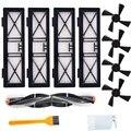 Ersatz Teile Kit 1 Wichtigsten Pinsel 4 Seite Pinsel 4 Hohe Effizienz Filter für Neato Botvac D Serie  staubsauger Pinsel F-in Staubsauger-Teile aus Haushaltsgeräte bei