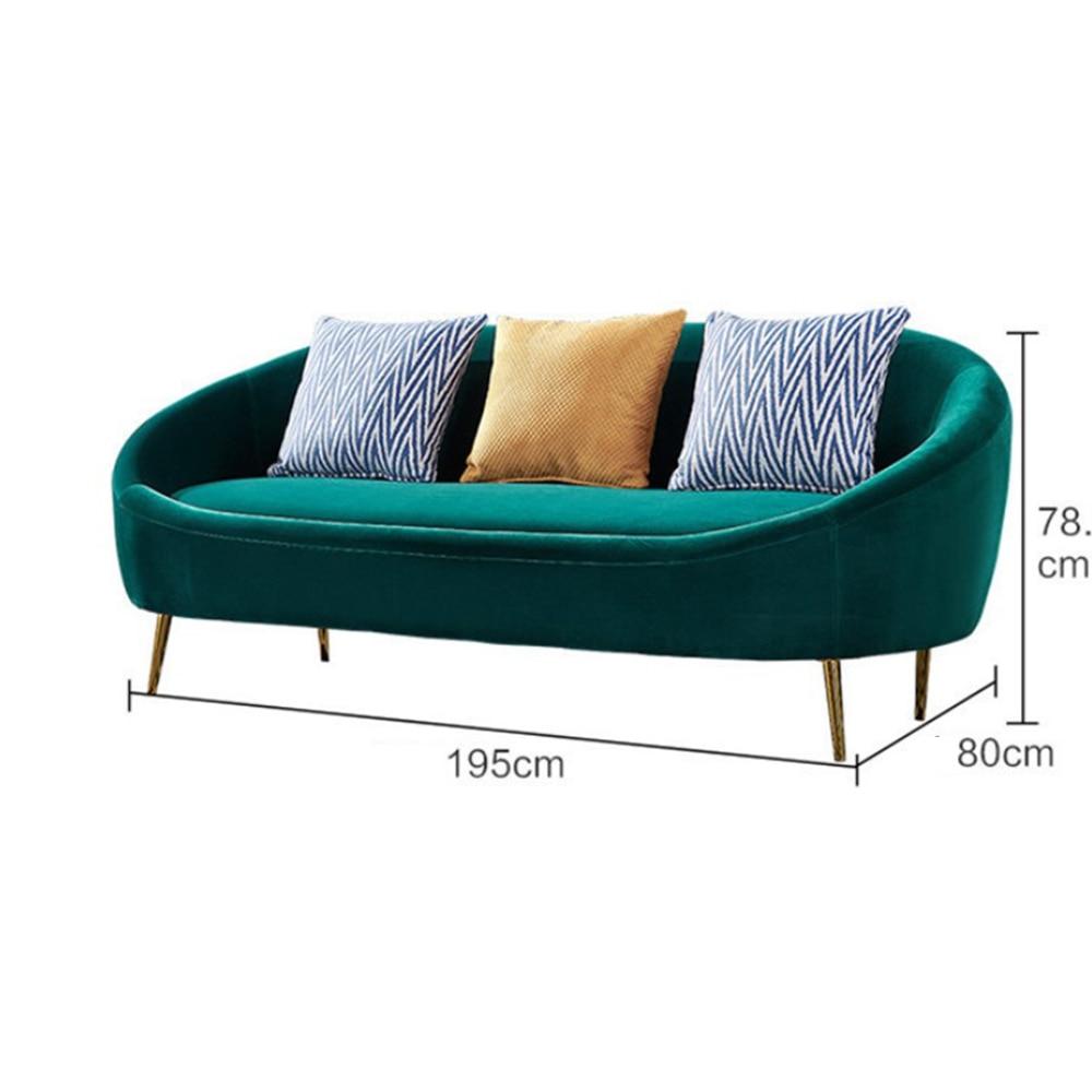 Fabric 3 Seater Sofa Shose Clothes
