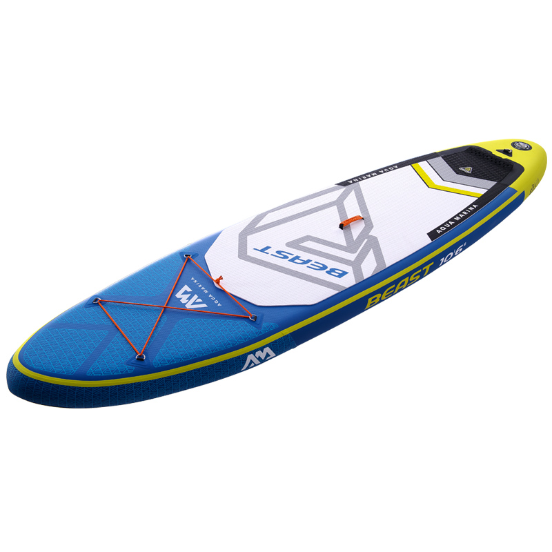 Surfboard 320*81*15cm AQUA MARINA BEAST Inflatable SUP Stand Up Paddle Board Surf Kayak Boat Leg Leash Dinghy Raft Water Sport