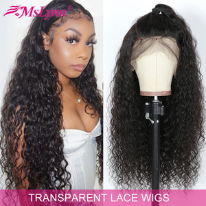 Onda de água peruca 360 laço frontal peruca pré arrancadas com o cabelo do bebê peruca dianteira do laço para preto feminino remy