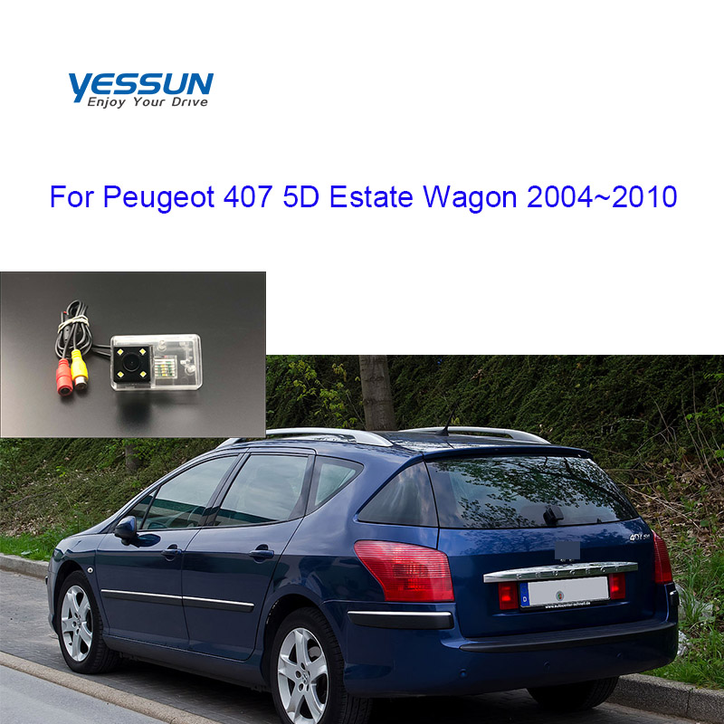 Yessun Car Rear View Camera For Peugeot 407 SW 5D 2004 2005 2006~2010 CCD Backup Night Vision/License Plate Camera