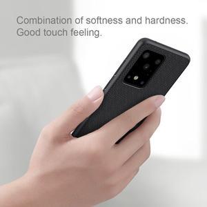 Image 2 - NILLKIN funda de teléfono texturizada para Samsung Galaxy S20/S20 Plus/S20, cubierta trasera esmerilada de negocios de lujo antideslizante de fibra de nailon Ultra