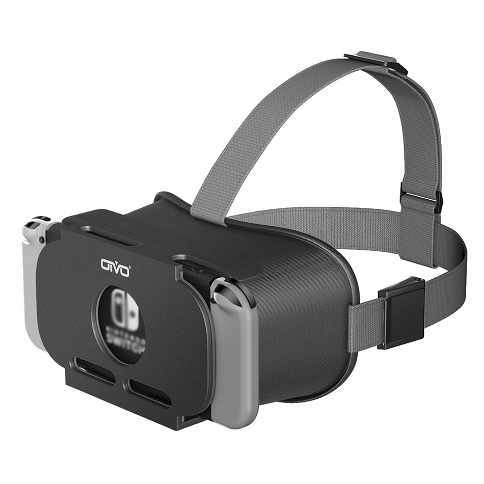 OIVO Switch VR Headset for Nintend Switch LABO VR Big lens Virtual Reality Movies Switch Game 3D VR Glasses for Odyssey Games