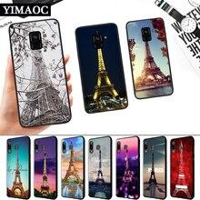Love Paris Eiffel Tower Silicone Soft Case for Samsung A3 A5 A6 Plus A7 A8 A9 A10 A20 A30 A50 A10S A30S A50S