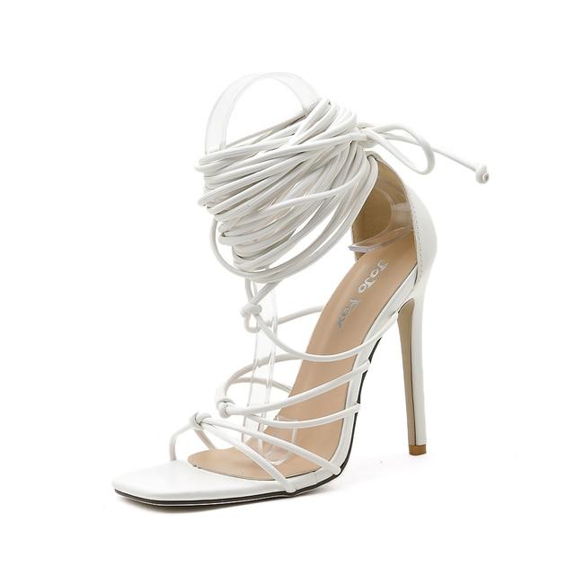 GENSHUO Summer Women Sandals 8