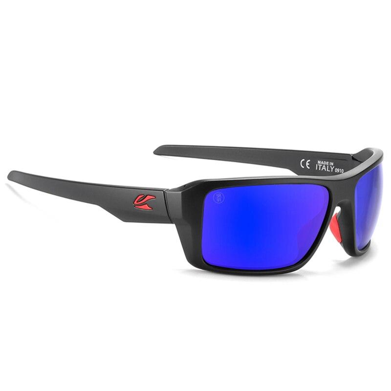Kaonic nuovi occhiali da sole polarizzati montatura quadrata uomo lenti a specchio Design del marchio donna guida pesca occhiali da sole UV400 7 colori 1