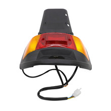 For Yamaha Jog 50 CY50 1992-200 Motorcycle Rear License Plate Mount Holder and Taillight Tail Light lamp rear fender