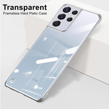 Ultra Thin Transparent Hard Case for Samsung Galaxy S21 Plus S21 Ultra 5G Frameless Cover