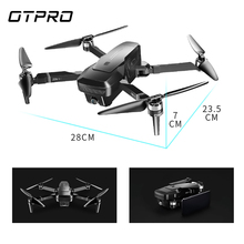 Mini Foldable 4K HD Camera Double Camera Professional  Drone GPS RC Helicopter Brushless Motor Intelligent Following Quadcopter