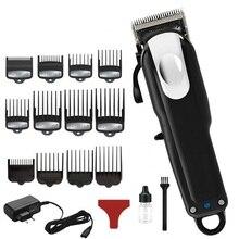 Профессиональная Парикмахерская Машинка для стрижки волос для мужчин электрическая машина для резки волос Стрижка волос триммер подходит для andis