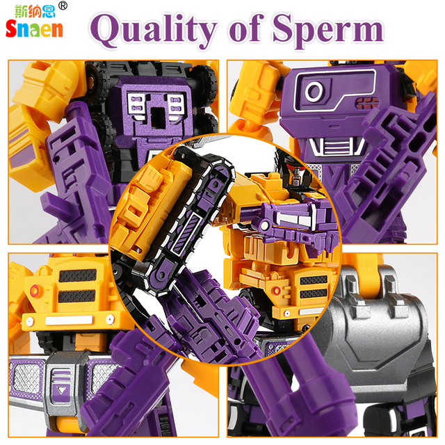 Transformation Robot Action Figures Diecast Engineering Deformed Toy Cars Blocks Assemble Educational Toys for Childrens Boys 4