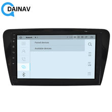 2 DIN Android 9.0 Car radio multimedia player FOR Skoda Octavia 2007-2014 car GPS navigation stereo autoradio Tesla style(China)