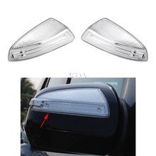 Left Right LED Rear Mirror Turn Signal Light Indicator Lamp For Mercedes Benz C Class W204 ML W164 Viano A2048200821 A2048200721