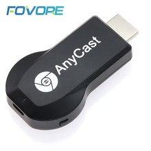 Anycast m2 plus hdmi-compatível tv vara 2.4g + 5g 4k sem fio dlna airplay hdmi-compatível wi-fi display dongle receptor para ios