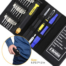 цена на Leather Case 22 In 1 Torx Screwdriver Set Mobile Phone Repair Tool Kit Multitool Hand Tools For Iphone Watch Tablet PC 2019 New