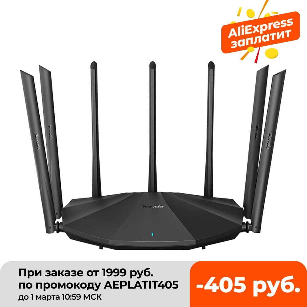 Роутер Tenda AC11 гигабитная версия 2,4 ГГц 5 ГГц Wi Fi 1167 Мбит/с антеннами с высоким коэффициентом усиления 5*6 дБи, более широкое покрытие, доставка в Россию| |   | АлиЭкспресс