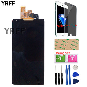 Image 2 - LCD Display Mobile For Philips Xenium W6610 W6618 LCD Display + Touch Screen Digitizer Assembly Tools Tape Protector Film