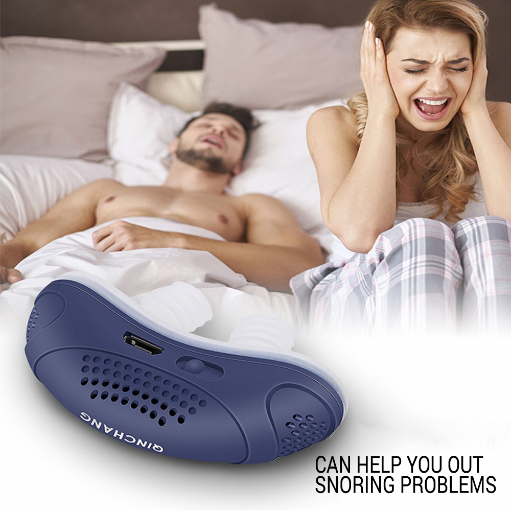 Electric Snoring Appliance For Men And Women Snoring Prevention Appliance Anti-Snoring Device Stop Snoring Stopper Machine