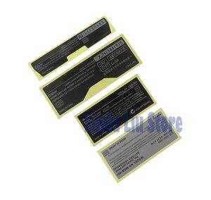 Image 5 - 20 stücke Neue Etiketten Zurück Aufkleber ersatz für Gameboy Advance/ SP/Farbe für GBA/ GBA SP/ GBC/GBP Spiel Konsole
