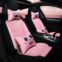 New Style Fashion Cartoon Automobile Seat Cushion Winter Plush Car Mats Mazda 6 Angkesaila Seat Cushion Wholesale D 43