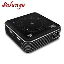 Портативный проектор Salange P11, 4K, Android 9,0, поддержка Wi-Fi, Bluetooth, HDMI