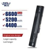 JIGU 6 خلايا بطارية لابتوب أسوس K42 K52 A52 A52F A52J A31-K52 A32-K52 A41-K52 A42-K52