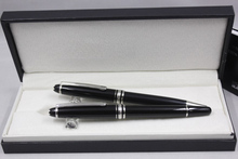Luxury 163 series mon roller ballpoint pen Hot sell blanc ink color gift