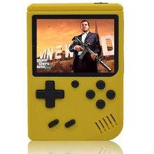 Vídeo game console suporte tv conexão 400 retro jogos embutidos em dois jogadores gamepad presentes jogo portátil playerfor crianças