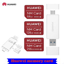 TF-кардридер Huawei P30P40mate20mate30mate40Pro, комбинированная SD-карта памяти нм, оригинал