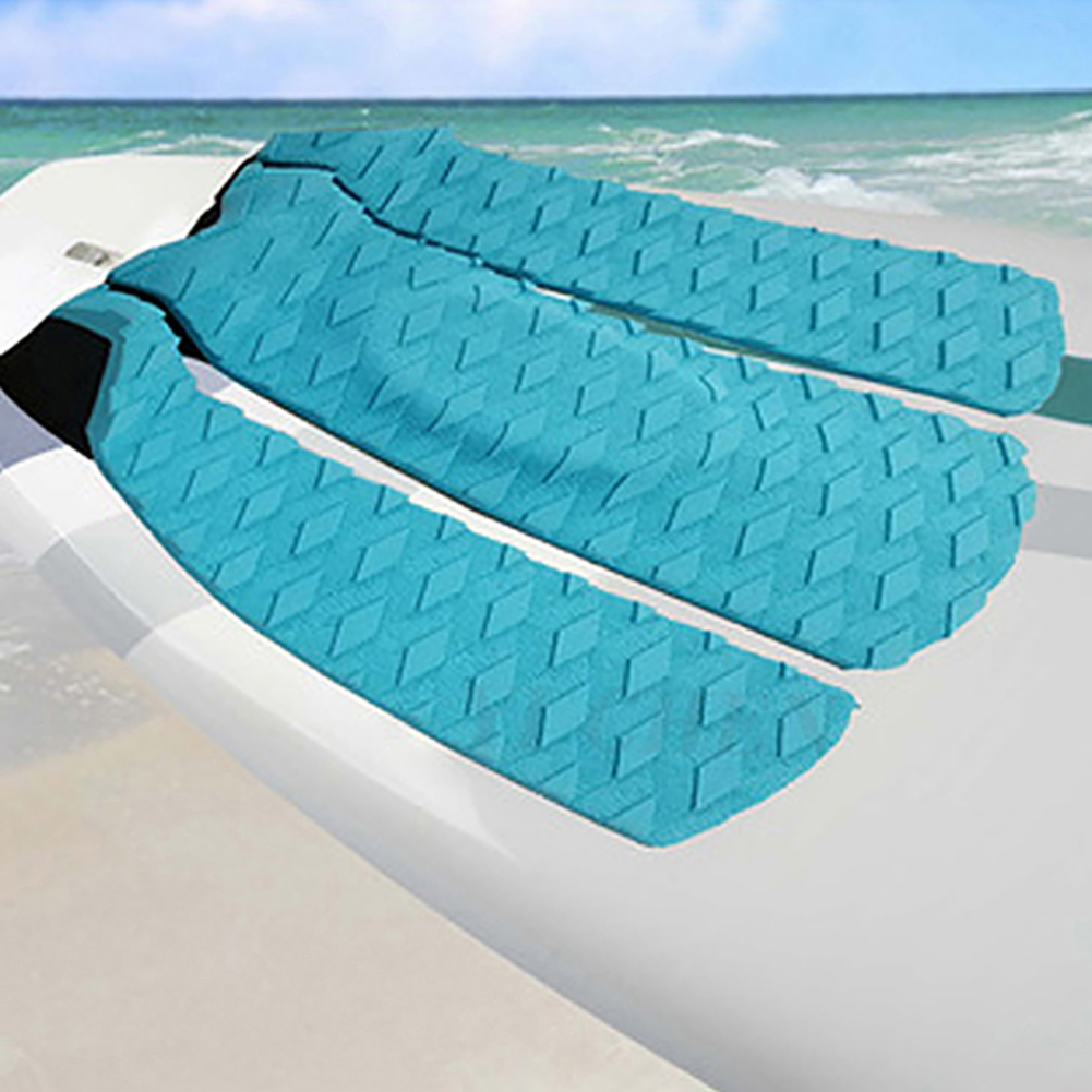 3Pcs Surf Surfboard Tail Pad EVA Traction Non-Slip Pad Surfing Accessories Kite Surfboard Deck Pad 30X30X0.5CM New S20