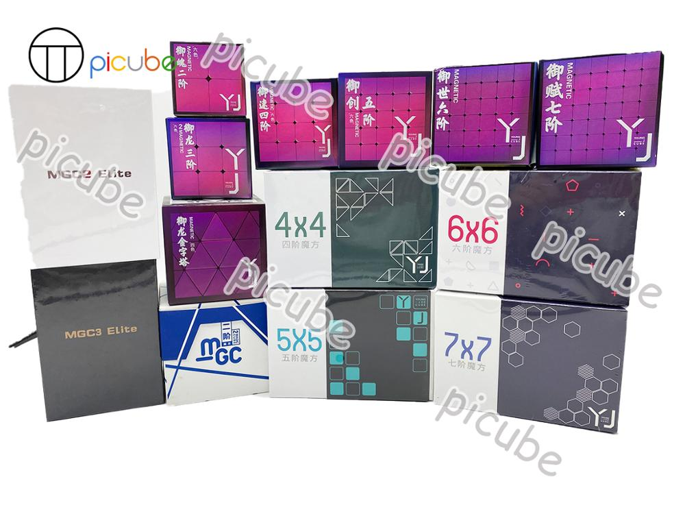 [Picube]yongjun YJ MGC series YuPo YuLong YuSu YuChuang YuShi YuFu 3x3 2x2 4x4 5x5 6x6 7x7 Magnetic Puzzles Magnets Pyramid Cube