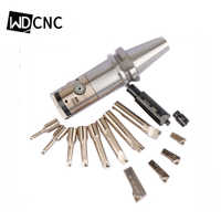 Conjuntos de sistema de mandrinado fino de BT40-HBOR63 herramientas de mandrinado CNC rango de 6-150mm