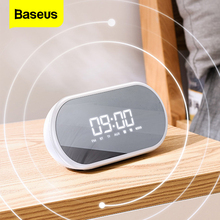Baseus E09 przenośny głośnik Bluetooth z budzikiem głośnik bezprzewodowy muzyka Surround głośnik do telefonu komputer stancjonarny
