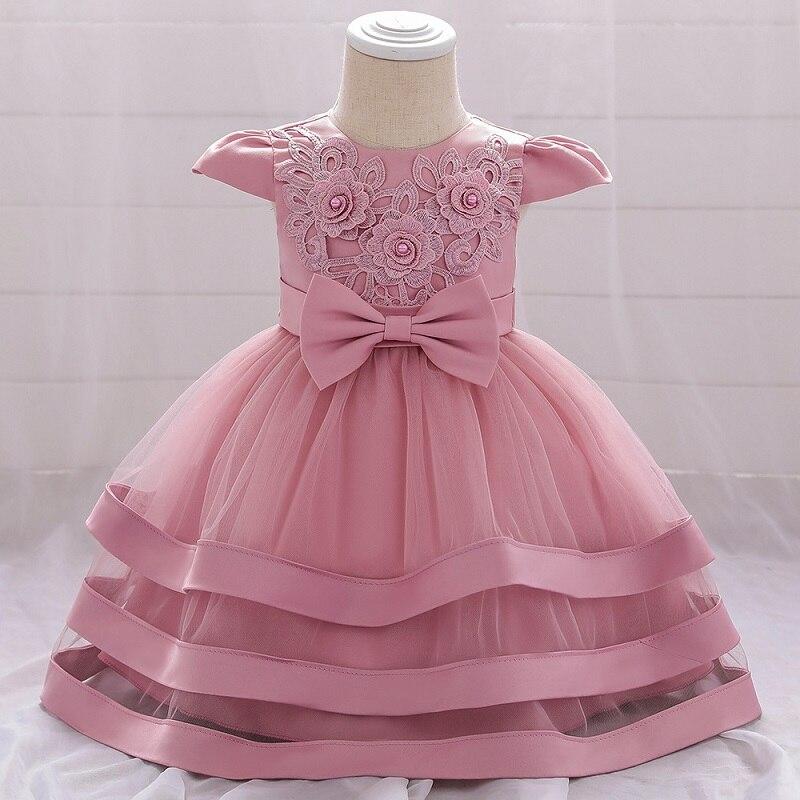 Baby Girl Summer Dresses Newborn Girl Birthday Wedding Princess Dress Girl Kindergarten Graduation Ball Party Dinner Dress