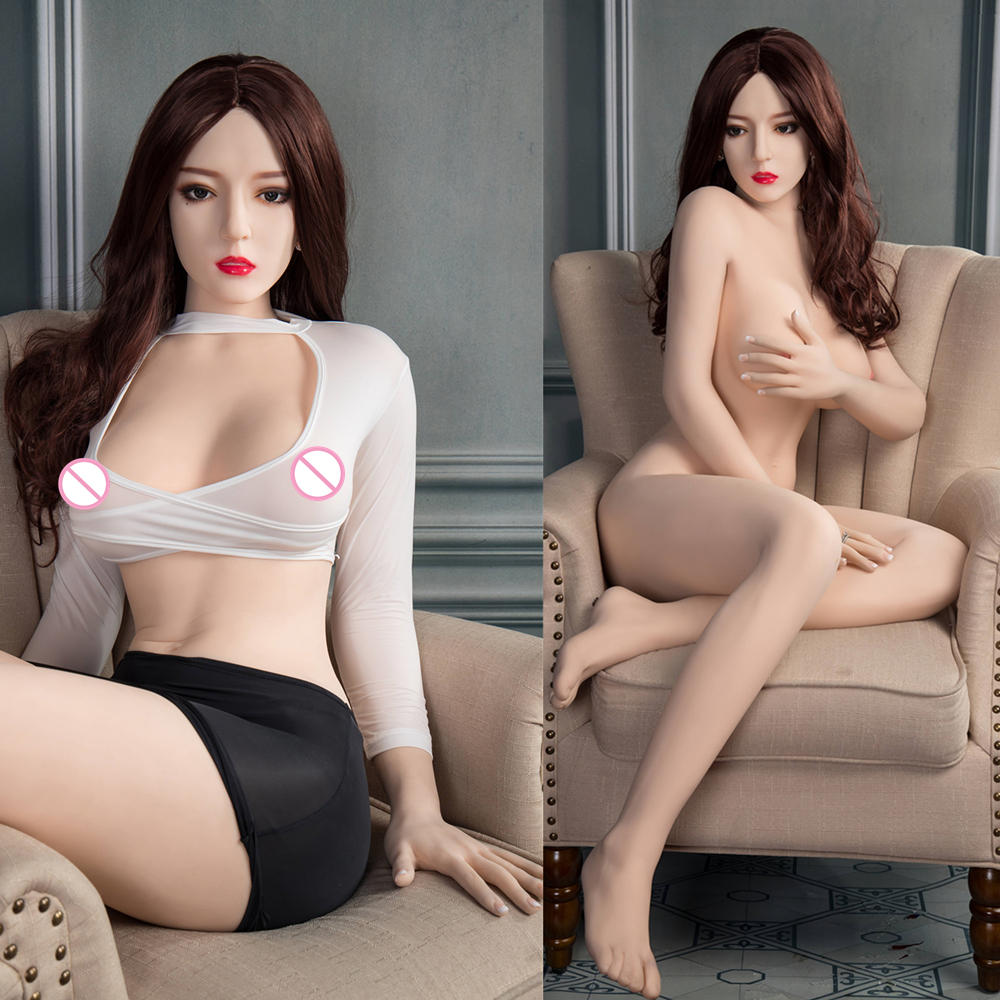 free shipping 140/<font><b>148</b></font>/158/165cm Full Silicone <font><b>Sex</b></font> <font><b>Doll</b></font> Lifelike Beautiful Girl Pussy Big Ass with Metal Skeleton Men Love <font><b>Doll</b></font> image