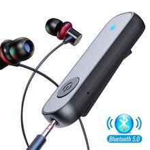 Récepteur Bluetooth 5.0 pour casque d'écoute de voiture, adaptateur à Clip, sans fil, Jack 3.5mm, AUX